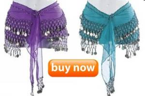 Buy dance hip scarf